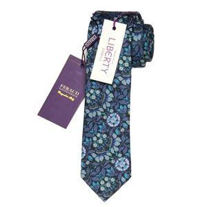 Feraud Liberty of London Fabric Tie Floral Men's